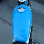 Suzuki TS250 - 1972 - Fuel Tank and Cap.
