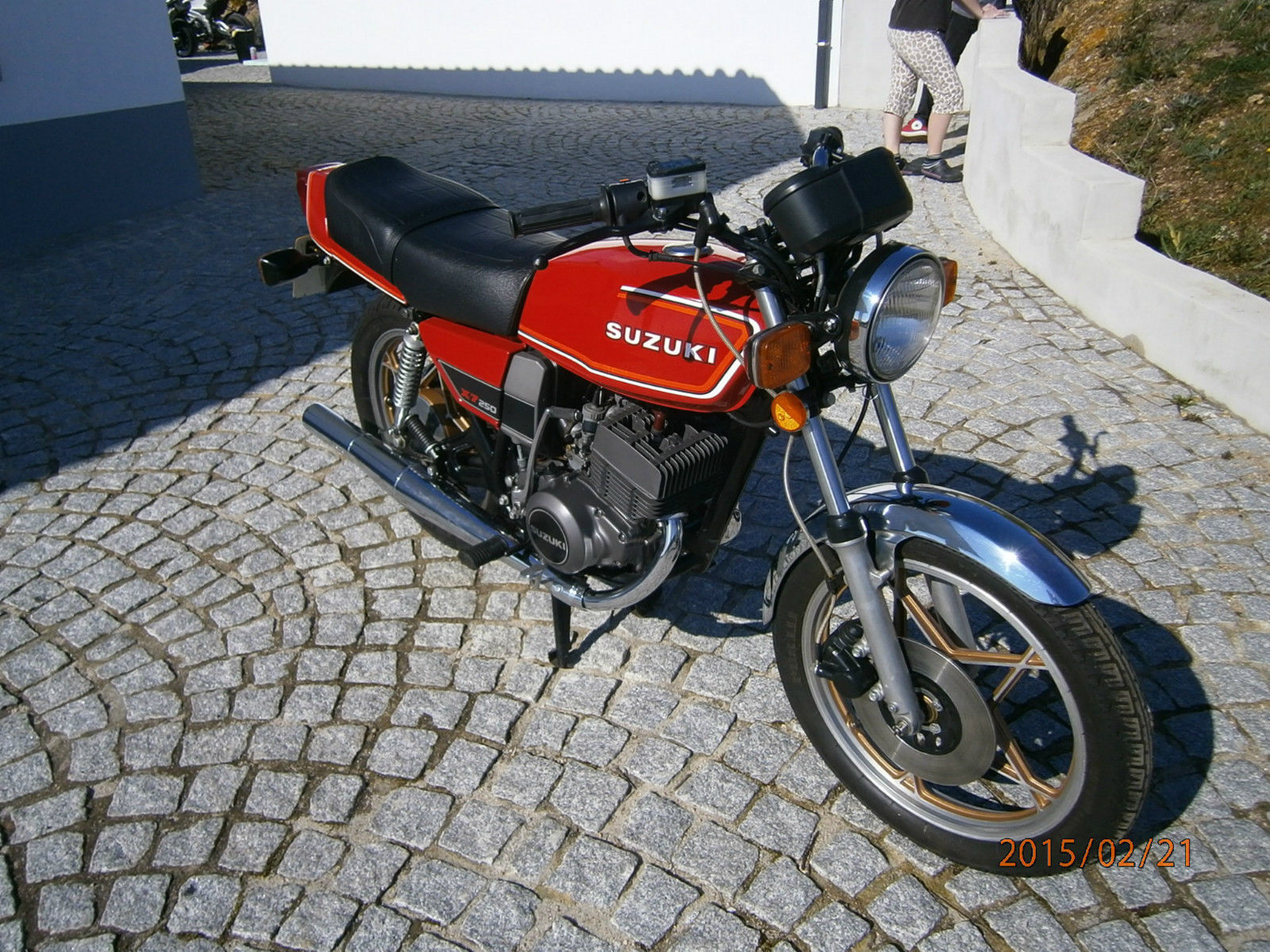 Restored Suzuki X7 1982 Photographs At Classic Bikes Restored Bikes Restored