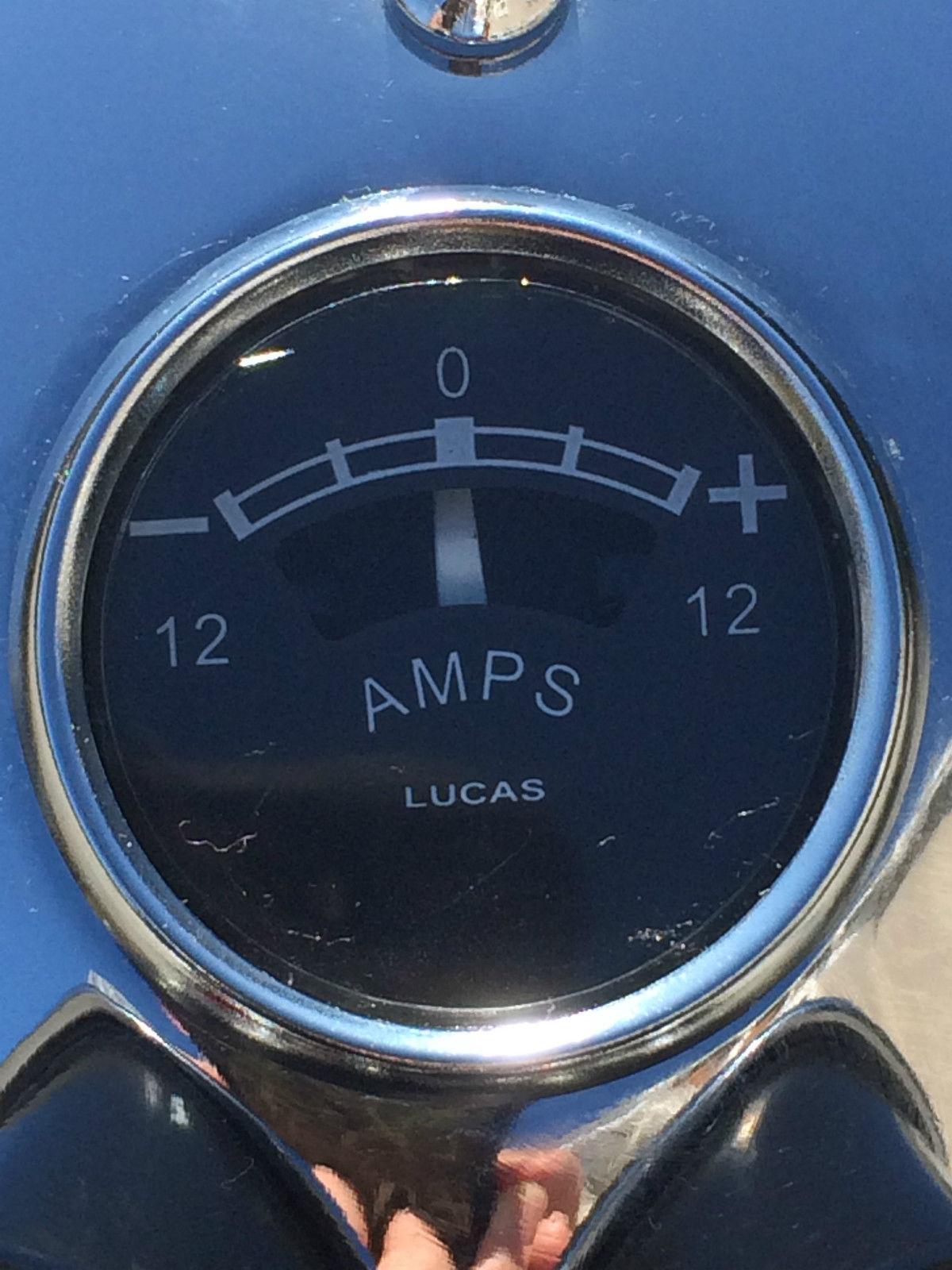 Triumph Bonneville - 1964 - Original Ammeter.