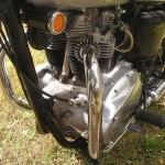 Triumph Trophy TR6 - 1968 - Frame, Engine and Mountings.