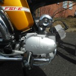Yamaha FS1E - 1974 - Fizzy Engine, Pedal, 49cc, Exhaust and Side Panel.
