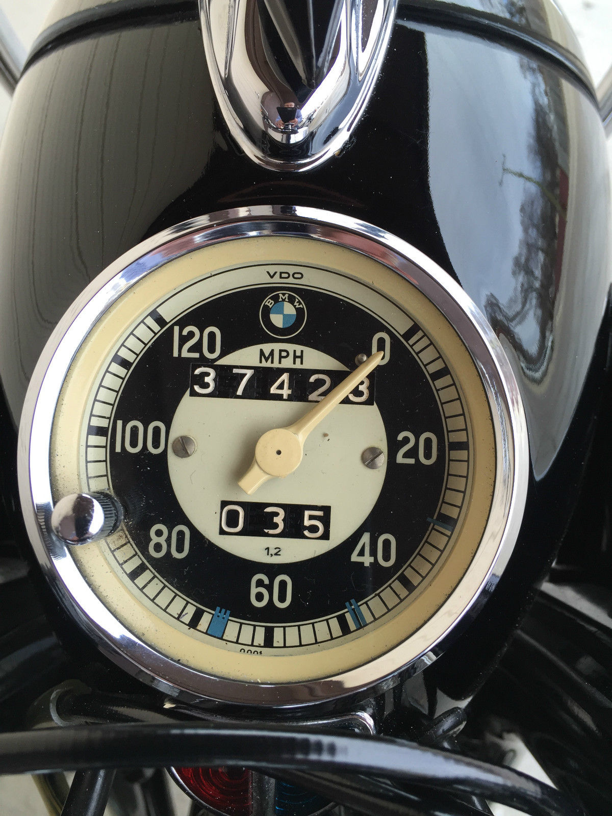 BMW R60/2 - 1965 - Speedometer.