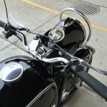 BMW R60/2 - 1965 - Handlebars, Grips, Cables, Cap and Headlight.