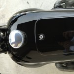 BMW R60/2 - 1965 - Gas tank and Cap.