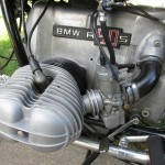 BMW R90S - 1975 - Gear Change, Cylinder, Boxer Engine, Carb, Cable and Spark Plug.