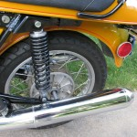 BMW R90S - 1975 - Reflector, Fender, Rear Wheel and Shock.