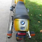 BMW R90S - 1975 - Indicators, Tail Unit, Seat, Rear Light and Grab Rail.