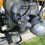 BMW R90S - 1975 - Cylinder Head, Carburettor, Footrest and Brake Lever.