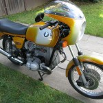 BMW R90S - 1975 - Front Mudguard, Disc Brake, Exhaust System, Mufflers, Frame and Forks.