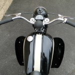 BSA Bantam - 1953 - Handlebars, Horn, Grips, Levers, Speedo, Gas Tank and Cap.