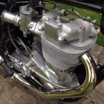 BSA Gold Star - 1961 - Rocker Cover, Cylinder Head, Exhaust, Carburettor and Cable.