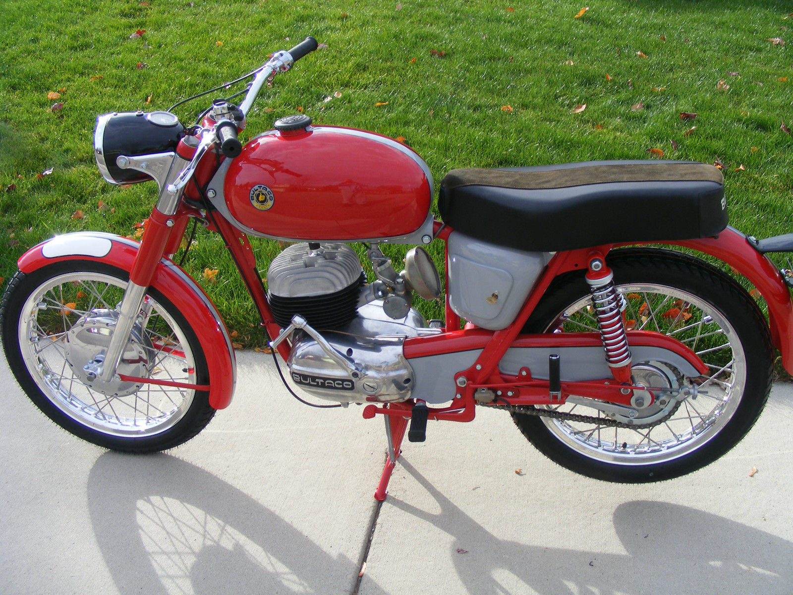 Bultaco Mercurio - 1966 - Frame and Forks.