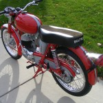 Bultaco Mercurio - 1966 - Gas Tank and Seat.