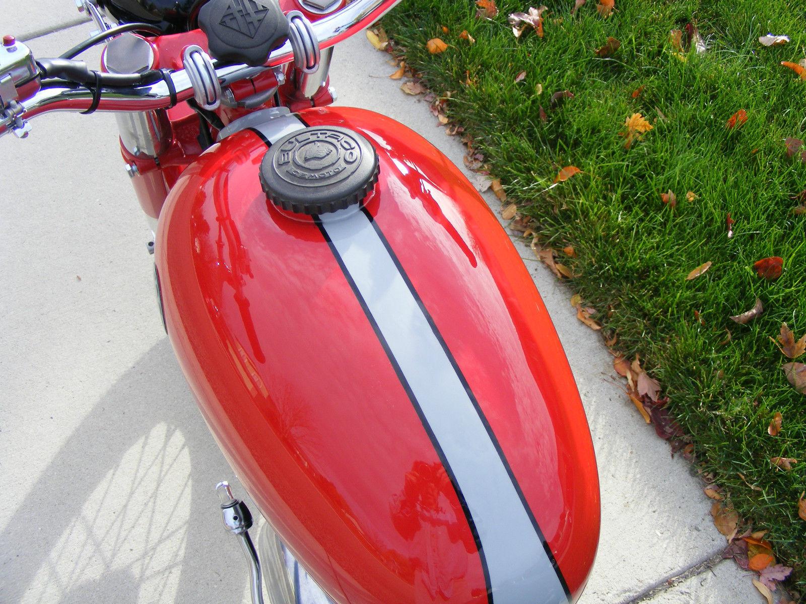 Bultaco Mercurio - 1966 - Petrol Tank and Filler Cap.