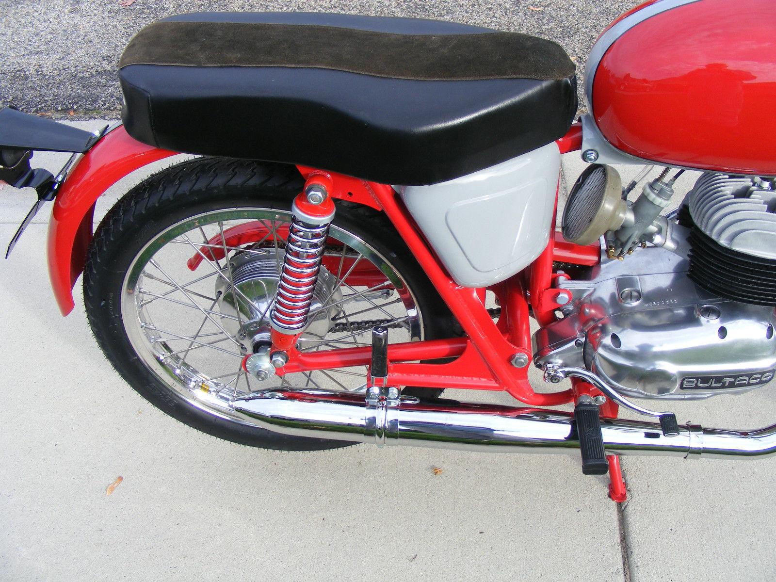 Restored Bultaco Mercurio - 1966 Photographs at Classic