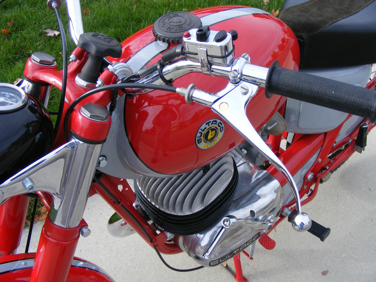 Bultaco Mercurio - 1966 - Clutch Lever.
