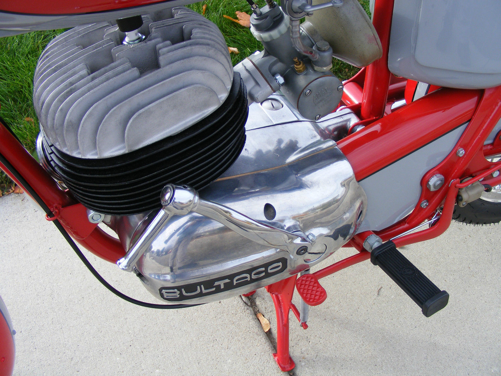 Bultaco Mercurio - 1966 - Engine and Gearbox.