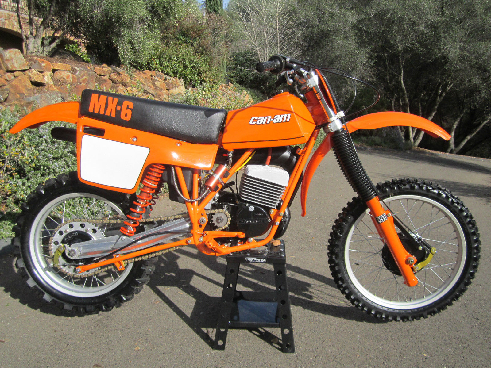 Restored Can Am Mx6 250b 1981 Photographs At Classic