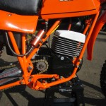 Can-Am MX6 250B - 1981 - Engine and Gearbox.