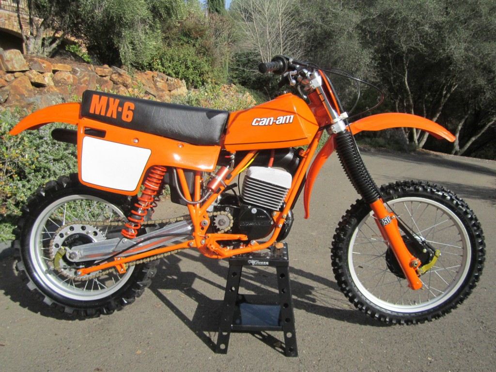 Can Am Mx6 250b 1981 Restored Classic Motorcycles At
