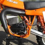 Can-Am MX6 250B - 1981 - Motor and Transmission.