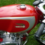 Ducati Mach 1 - 1965 - Fuel Tank, Gas Cap, Grip and Decals.