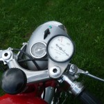 Ducati Mach 1 - 1965 - Headlight, Speedo, Tacho and Clip On Handlebars.