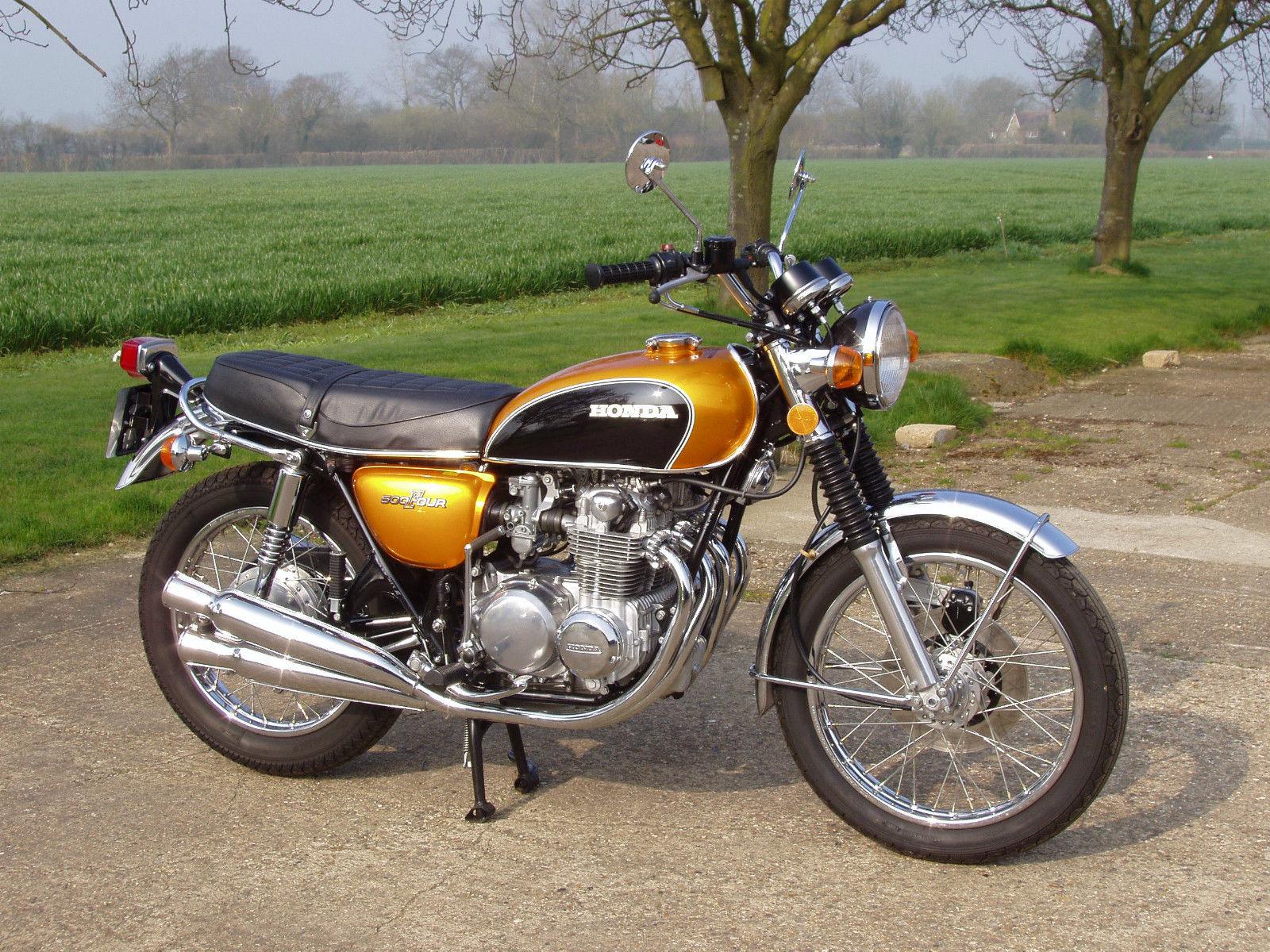 The Very First Honda CB500
