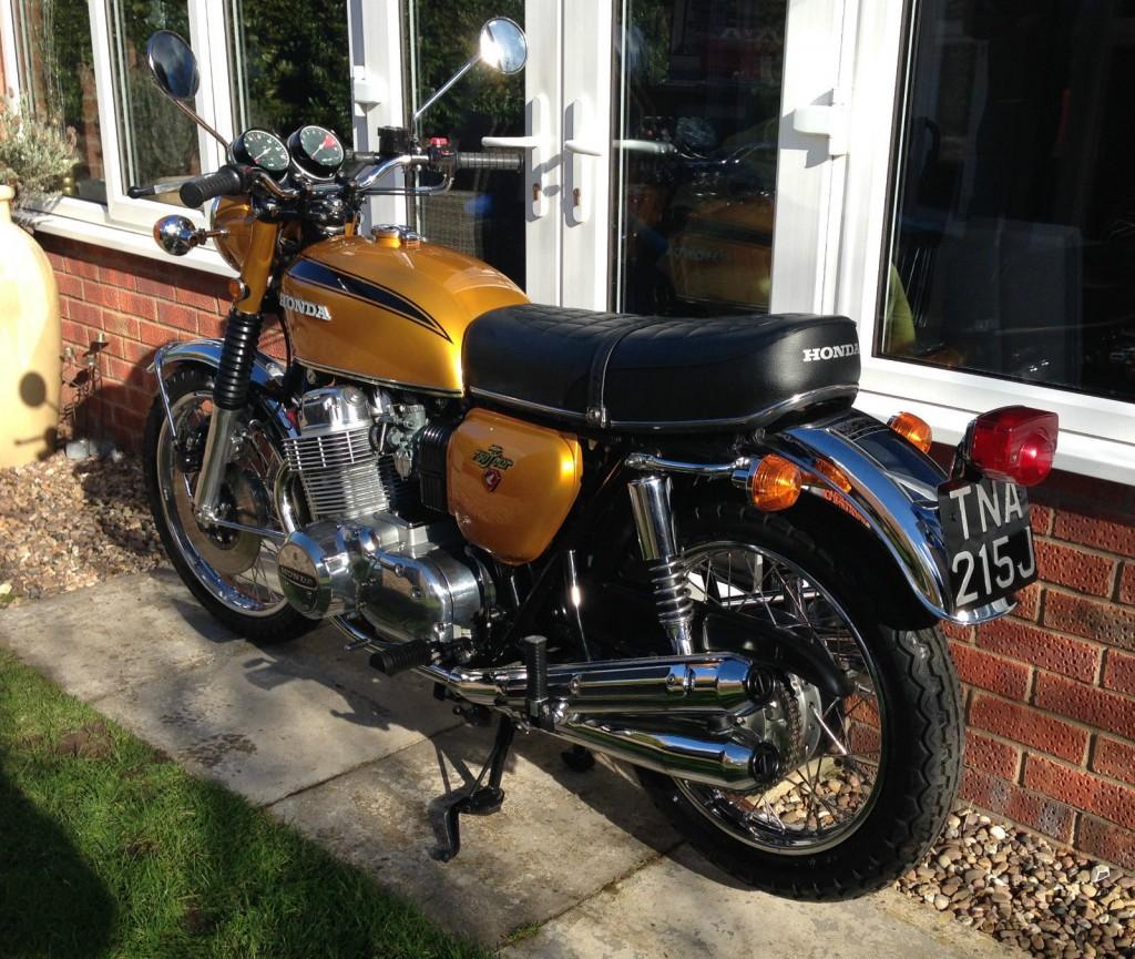 Restored Honda Classic Motorcycles At Bikes 1970 Cb 90 Motorcycle Cb750 K1 Shock Absorbers Rear Wheel Fender Light