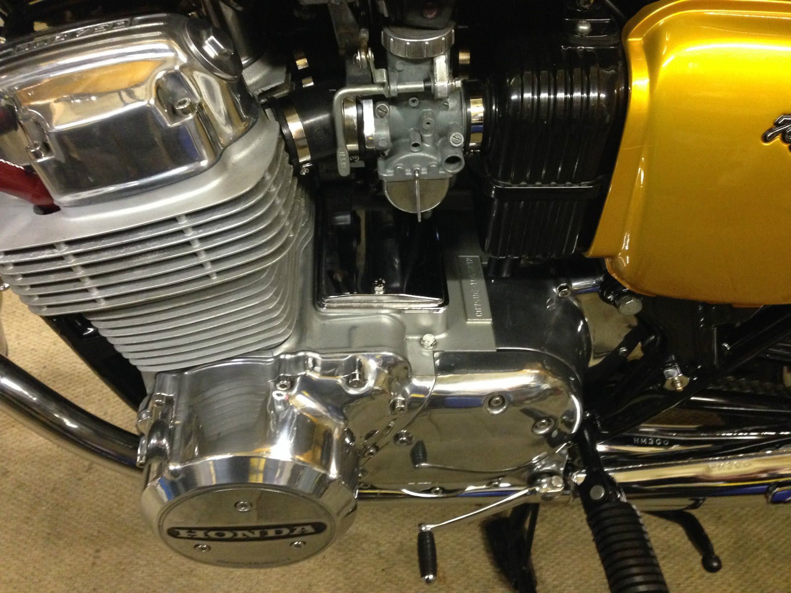 Honda CB750 K1 - 1970 - Engine and Gearbox, Motor and Transmission, Carburettors, Gear Change, Sprocket Cover and Engine Cases.