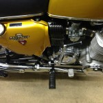 Honda CB750 K1 - 1970 - Oil Tank Cover, Airbox, Kick Start, Footrest, Seat and Cover.