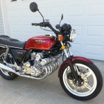 Honda CBX - 1979 - NOS Mirrors, Handlebars, Lights, Front Comstar Wheel, Honda Badge, Reflectors, Frame and Forks.