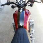 Honda CBX - 1979 - Seat, Petrol Tank, Gas Cap, Clocks, Gauges, Speedo and Tacho.