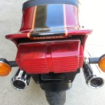 Honda CBX - 1979 - Rear Light, Tail Piece, Exhausts and Flashers.