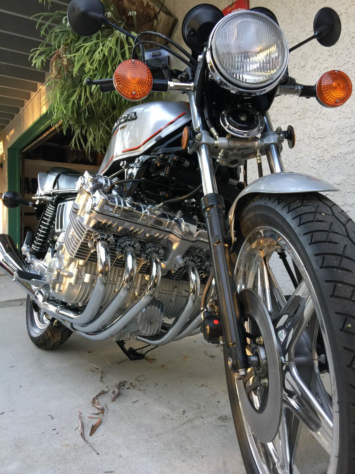 Restored Honda Cbx1000 1979 Photographs At Classic Bikes