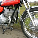 Kawasaki H1C 500 - 1972 - Twin Leading Shoe Brake, Brake Cable, Speedo Cable and Forks.