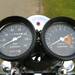 Kawasaki H1C 500 - 1972 - Clocks, Gauges, Speedo and Tacho.