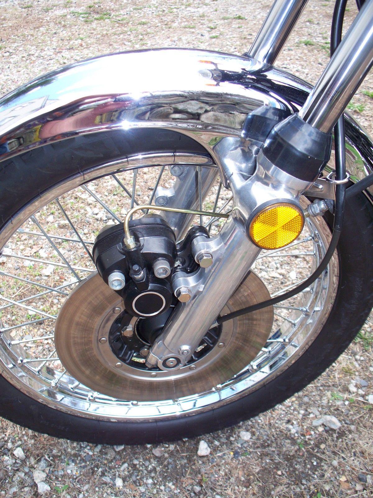 Restored Kawasaki Z1 1975 Photographs At Classic Bikes
