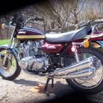 Kawasaki Z1 - 1975 - Frame and Forks, Wheel, Brakes and Tyres.