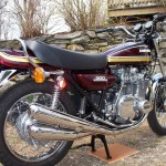 Kawasaki Z1 - 1975 - Mufflers, Exhaust, 4 into 4 System, Flashers and Stand.