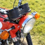 Suzuki GT380 - 1973 - Clocks, Headlight, Indicators, Headlight Brackets and Forks.