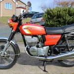 Suzuki GT380 - 1973 - Wheels, Brakes, Frame and Forks.