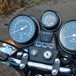 Suzuki GT750 - 1976 - Clocks, Speedo and Tacho, Warning Lights and Ignition Switch.