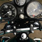 Suzuki GT750J - 1972 - Clocks, Gauges, Speedo Tacho and Water Temperature.