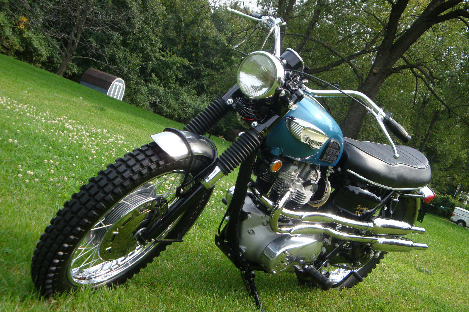 Triumph Trophy Tr6c 1968 Restored Classic Motorcycles At Bikes Wiring Harness For 1971 Motorcycle