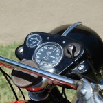 Ariel HS - 1957 - Ammeter, Speedo, Ignition, Steering Damper and Headlight.