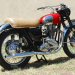 Ariel HS - 1957 - Seat, Tank, Oil Tank, Wheels and Tyres.