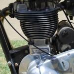Ariel HS - 1957 - 500cc Single Cylinder Engine.