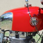 Ariel HS - 1957 - Petrol Tank, Cylinder Head and Carburettor.