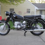BMW R69S - 1968 - Left Side View.